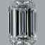 Emerald Cut Diamond 0.95ct F VVS1 GIA