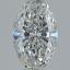 Oval Shape Diamond 0.50ct F SI1 FS-1182