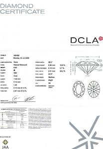Oval Shape Diamond 0.81ct - M SI1