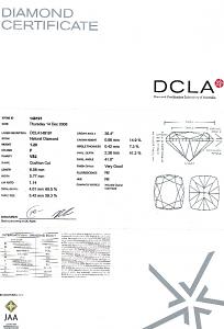 Cushion Cut Diamond 1.20ct - F VS2