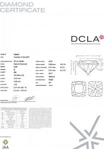 Old Mine Cut Diamond 0.68ct - G SI2