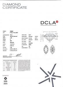 Marquise Cut Diamond 1.23ct - F VS1