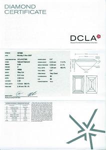 Baguette Cut Diamond 0.38ct - F VVS2