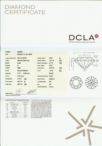 Round Brilliant Cut Diamond 0.22ct - F VS2