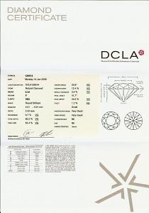 Round Brilliant Cut Diamond 0.24ct - F VS2