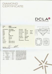 Cushion Cut Diamond 1.30ct - D SI1