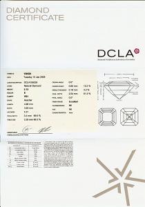 Asscher Cut Diamond 0.75ct - E VS1