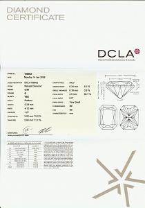 Radiant Cut Diamond 0.50ct - G VS2