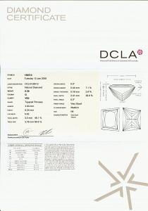 Trapezoid Cut Diamond 0.58ct - G VS2