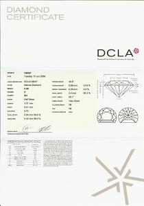 Half Moon Shape Diamond 0.66ct - E SI1