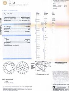 Round Brilliant Cut Diamond 2.51ct - I SI1