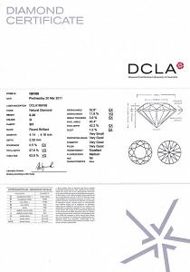 Round Brilliant Cut Diamond 0.25ct - G SI1
