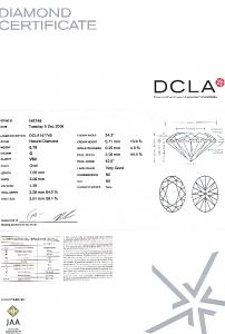 Oval Shape Diamond 0.78ct - G VS2