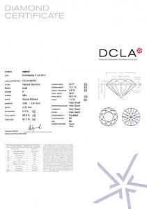 Round Brilliant Cut Diamond 0.20ct - F VS1