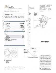 Oval Shape Diamond 0.44ct - Fancy Yellow VS2