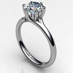 'Alana' Diamond Engagement Ring - Round 0.80ct G VS1