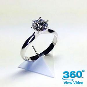 'Diana' Diamond Engagement Ring - Round 0.56ct - G SI1