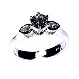 'Lauren' Diamond Engagement Ring - 0.59cts