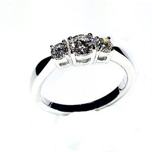 'Emily' Diamond Engagement Ring - 0.63cts