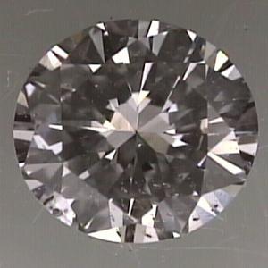 Round Brilliant Cut Diamond 0.25ct - F SI2