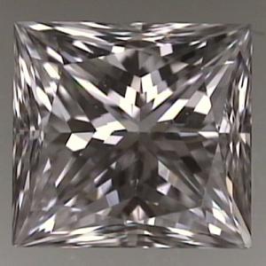 Princess Cut Diamond 0.71ct - E VS2
