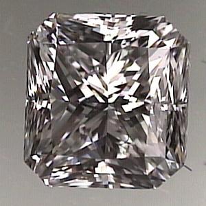Radiant Cut Diamond 1.02ct - E SI1