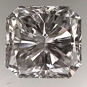 Radiant Cut Diamond 1.52ct - F VS1
