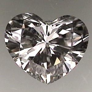 Heart Shape Diamond 0.71ct - G SI1