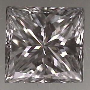 Princess Cut Diamond 0.48ct - E VVS2