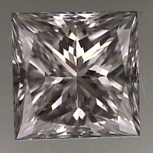 Princess Cut Diamond 0.57ct - F VVS2