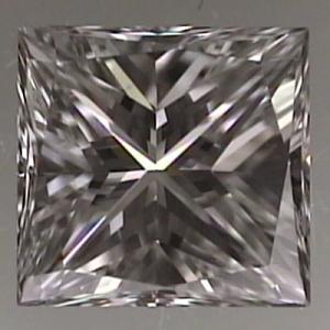 Princess Cut Diamond 0.47ct - G VVS2