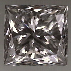 Princess Cut Diamond 0.54ct - G SI1