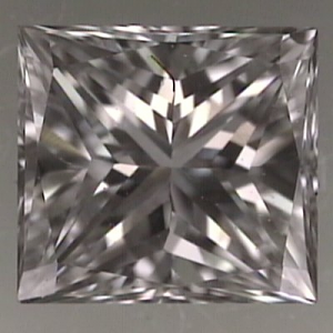 Princess Cut Diamond 0.34ct - E VVS2