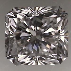Radiant Cut Diamond 1.01ct - F VVS2
