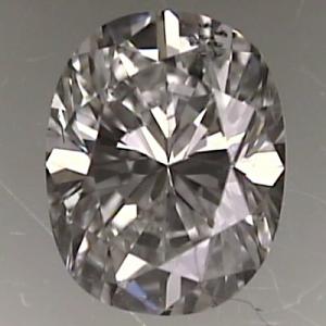 Oval Shape Diamond 0.63ct - F SI2