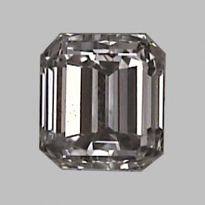 Emerald Cut Diamond 0.25ct - E VS1