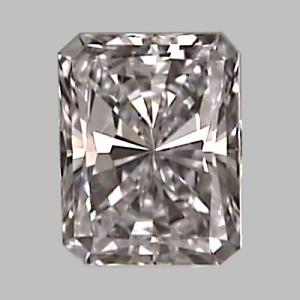 Radiant Cut Diamond 0.31ct - D VVS1