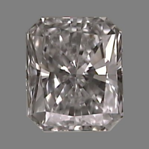 Radiant Cut Diamond 0.26ct - E VS2