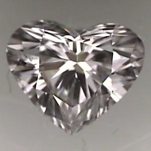Heart Shape Diamond 0.74ct - F SI2