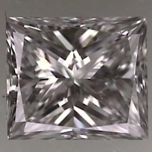 Princess Cut Diamond 0.53ct - D VVS2