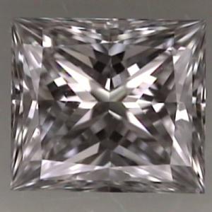 Princess Cut Diamond 0.41ct - D VVS1