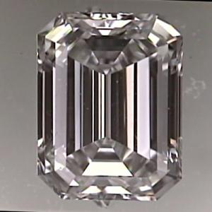 Emerald Cut Diamond 1.30ct - F IF