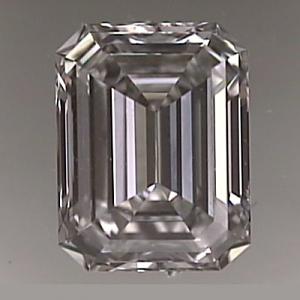 Emerald Cut Diamond 0.62ct - G VS1
