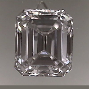 Emerald Cut Diamond 0.60ct - E VVS2