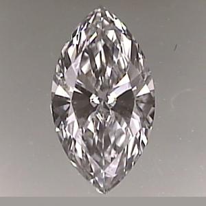 Marquise Cut Diamond 0.26ct - E VVS1