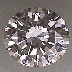 Round Brilliant Cut Diamond 0.38ct - F SI2