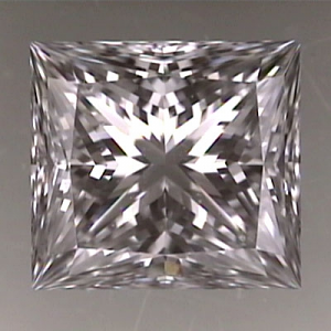 Princess Cut Diamond 0.80ct - D VVS1