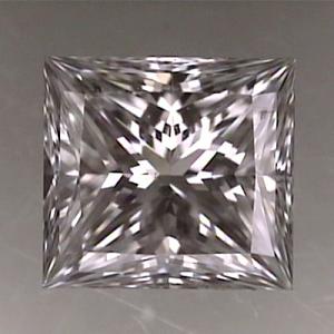 Princess Cut Diamond 0.52ct - F SI2