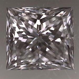 Princess Cut Diamond 0.60ct - E SI1