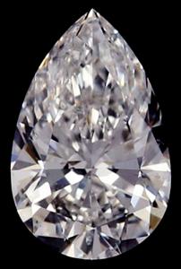 Pear Shape Diamond 0.51ct - E SI1